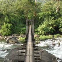 mankulam- hanging bridge