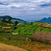 Vattavada Village